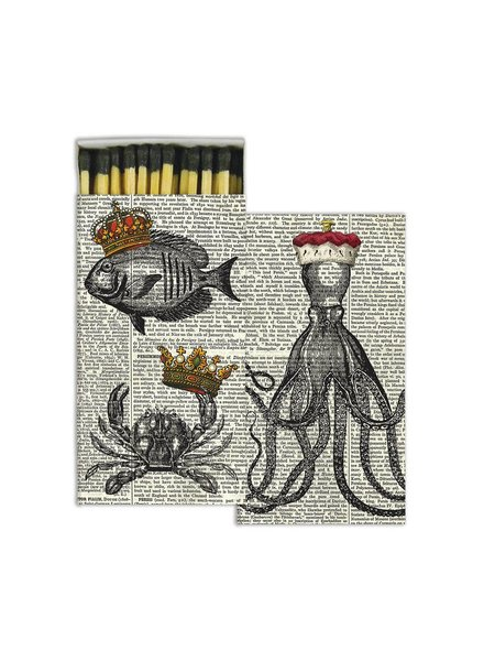 HomArt Royal Sealife HomArt Matches - Set of 3 Boxes
