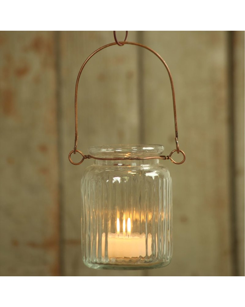 HomArt Jelly Jar Lantern - Clear