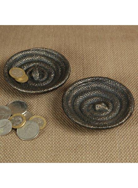 HomArt Snake Cast Iron Dish - Bronze