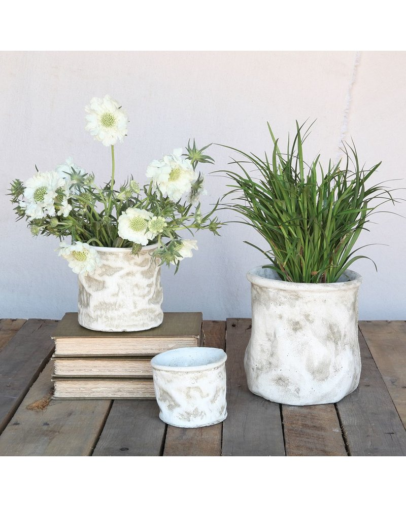 HomArt Canvas Sack Cement Container - Sm