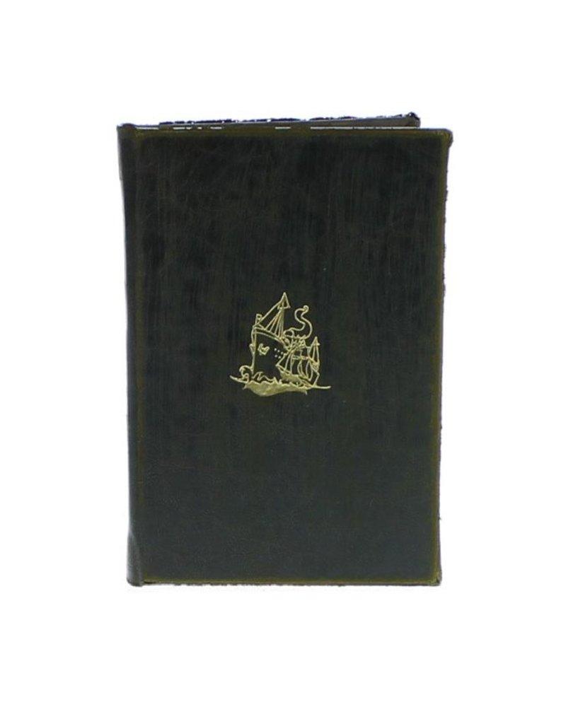 HomArt Maritime Embossed Journal - Ship - Black