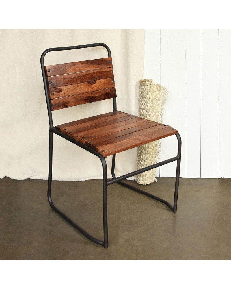 HomArt Aiden Wood & Iron Chair