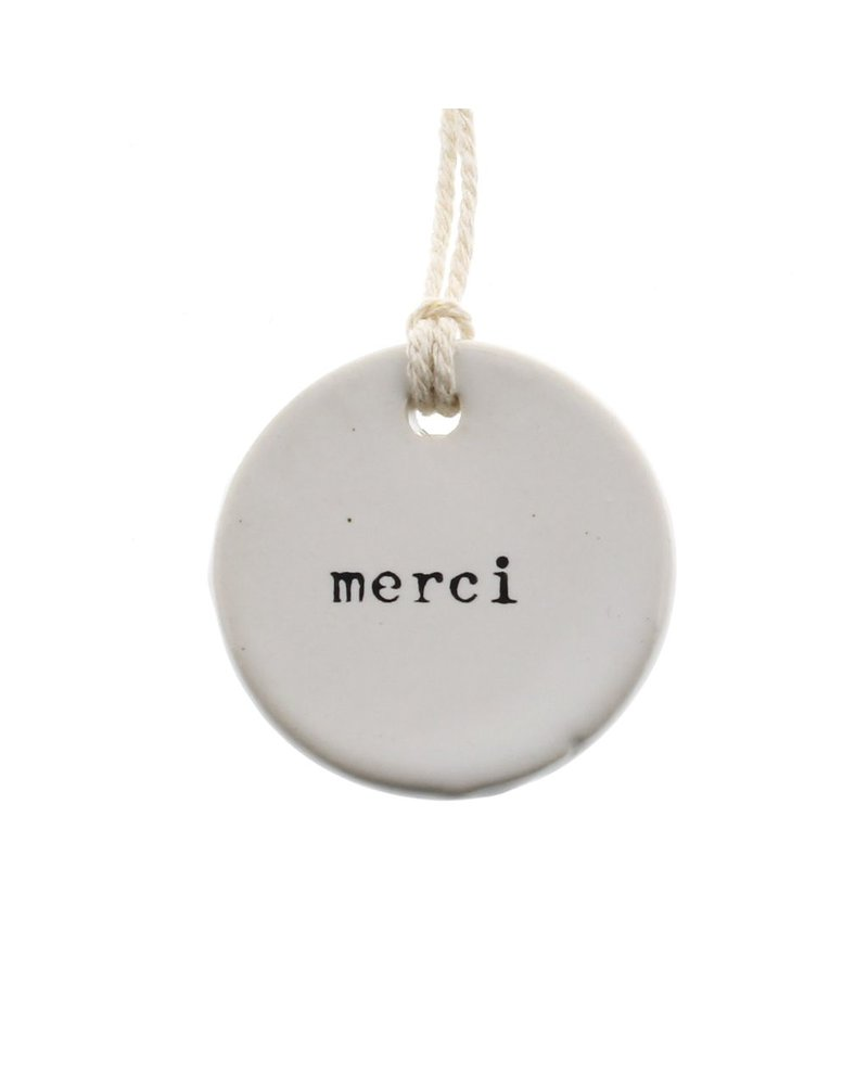HomArt Ceramic Tag - Merci