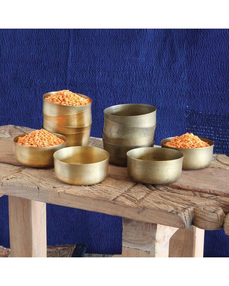 HomArt Polished Brass Dahl Brass Bowl - Set of 2