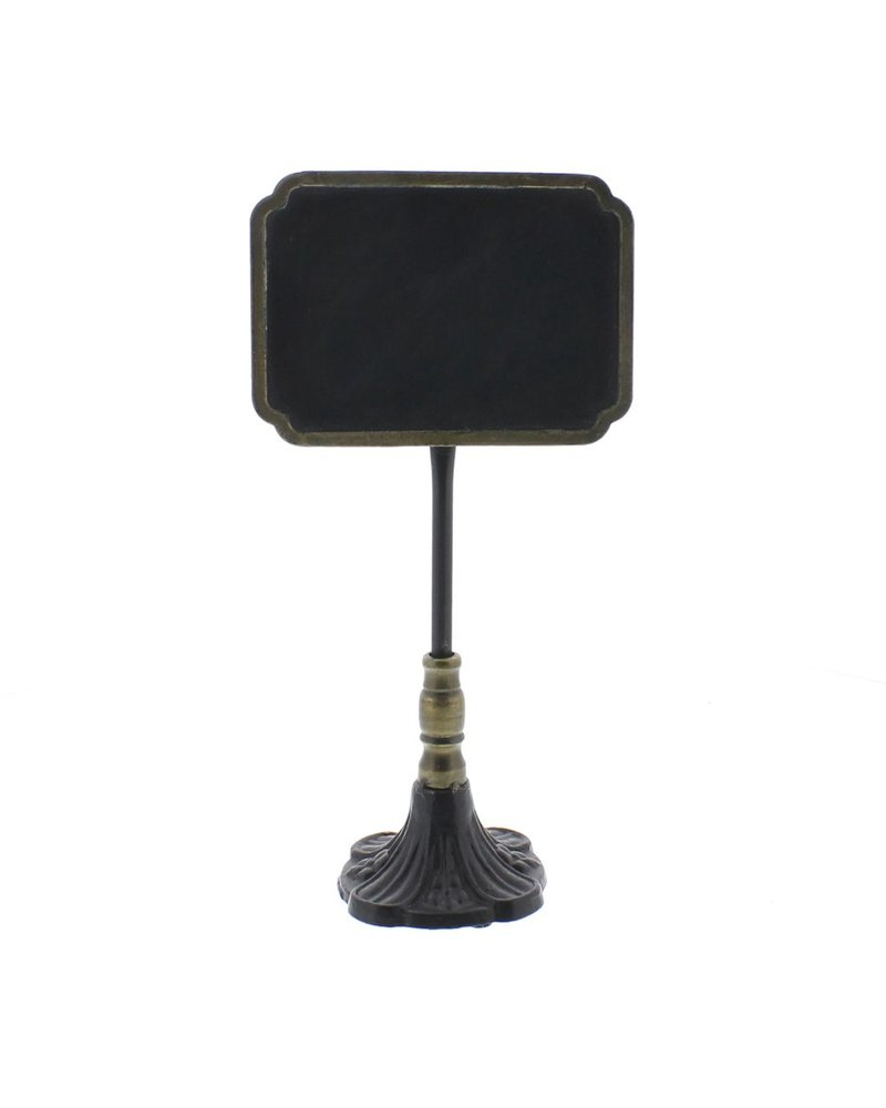 HomArt Carrel Chalkboard Stand - Rectangle