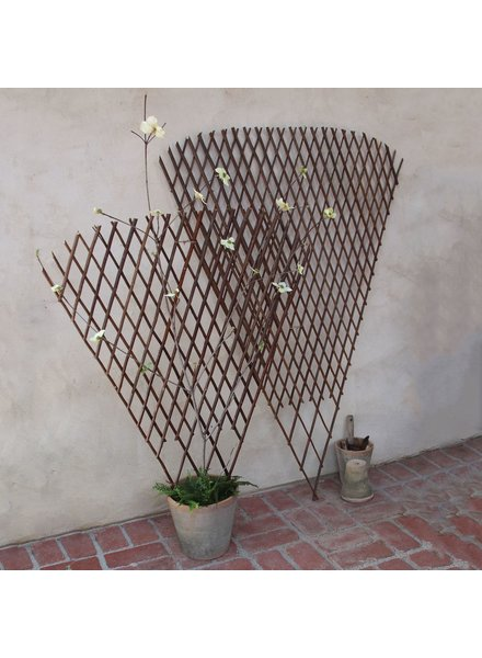 HomArt Fan Twig Trellis - Sm - Natural