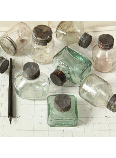 HomArt Ink Bottle with Zinc Cap - Assorted - Set of 2