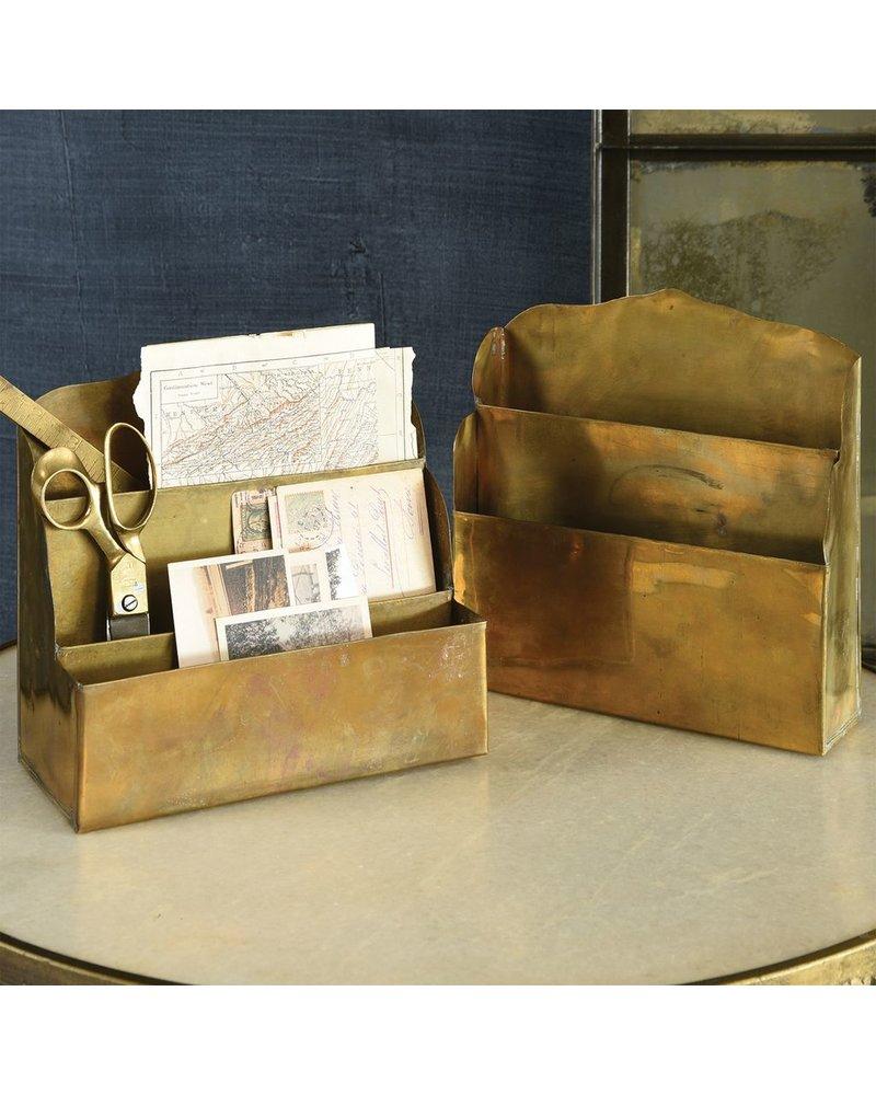 HomArt Brass Letter Rack