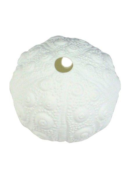 HomArt Urchin Bone China Wall Vase - White