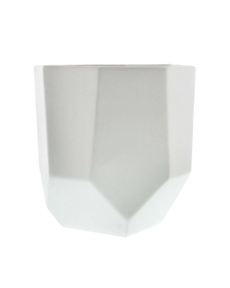 HomArt Lund Ceramic Vase - Med - Matte White