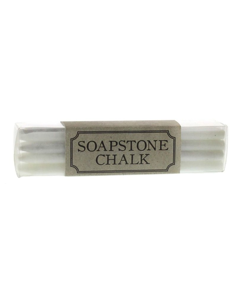 HomArt Soapstone Chalk - Box of 12 Sticks - White