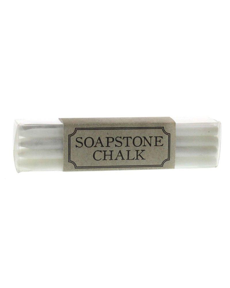 HomArt White Soapstone Chalk - Box of 12 Sticks - Set of 2 Boxes