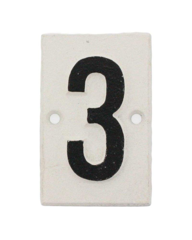 HomArt Cast Iron Sign - 3 - Set of 2