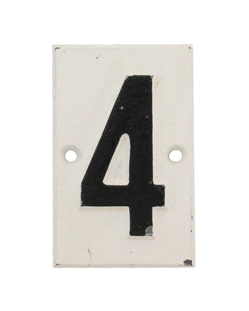 HomArt Cast Iron Sign - 4