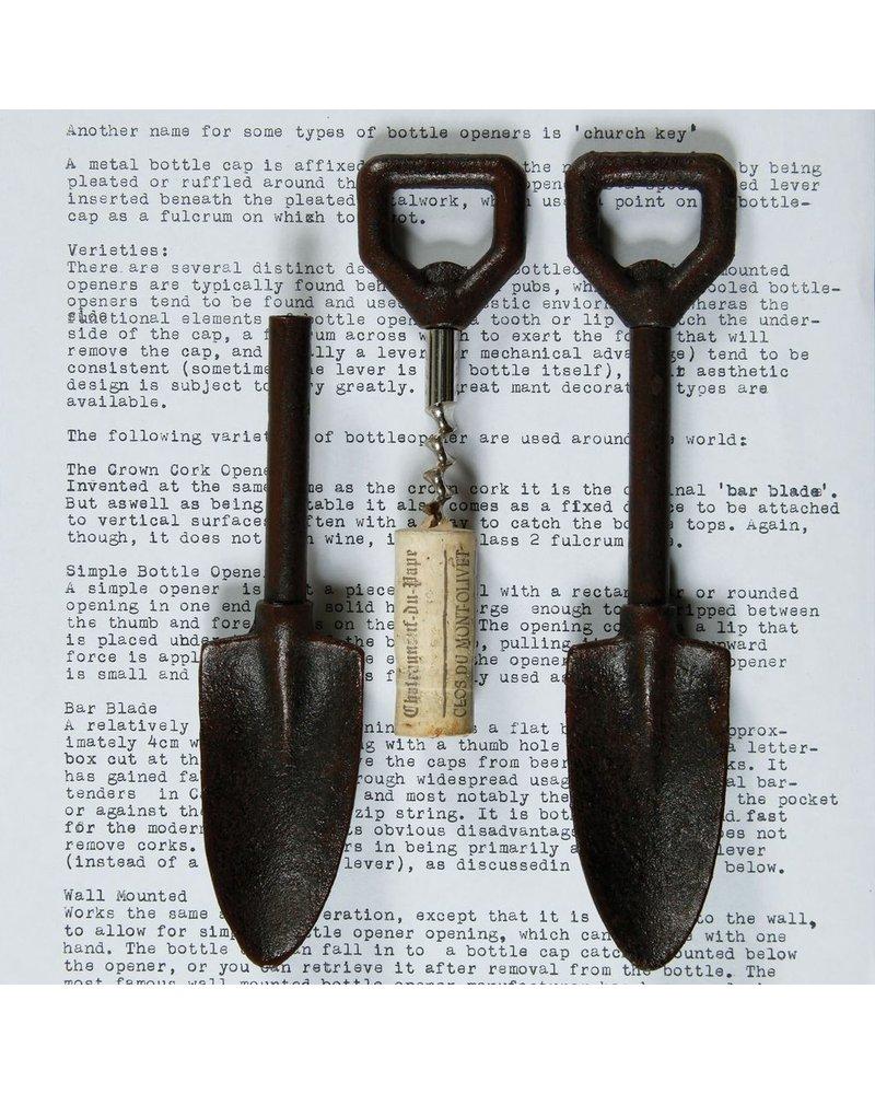 HomArt Shovel Bottle Opener - Wine Pull - Rust