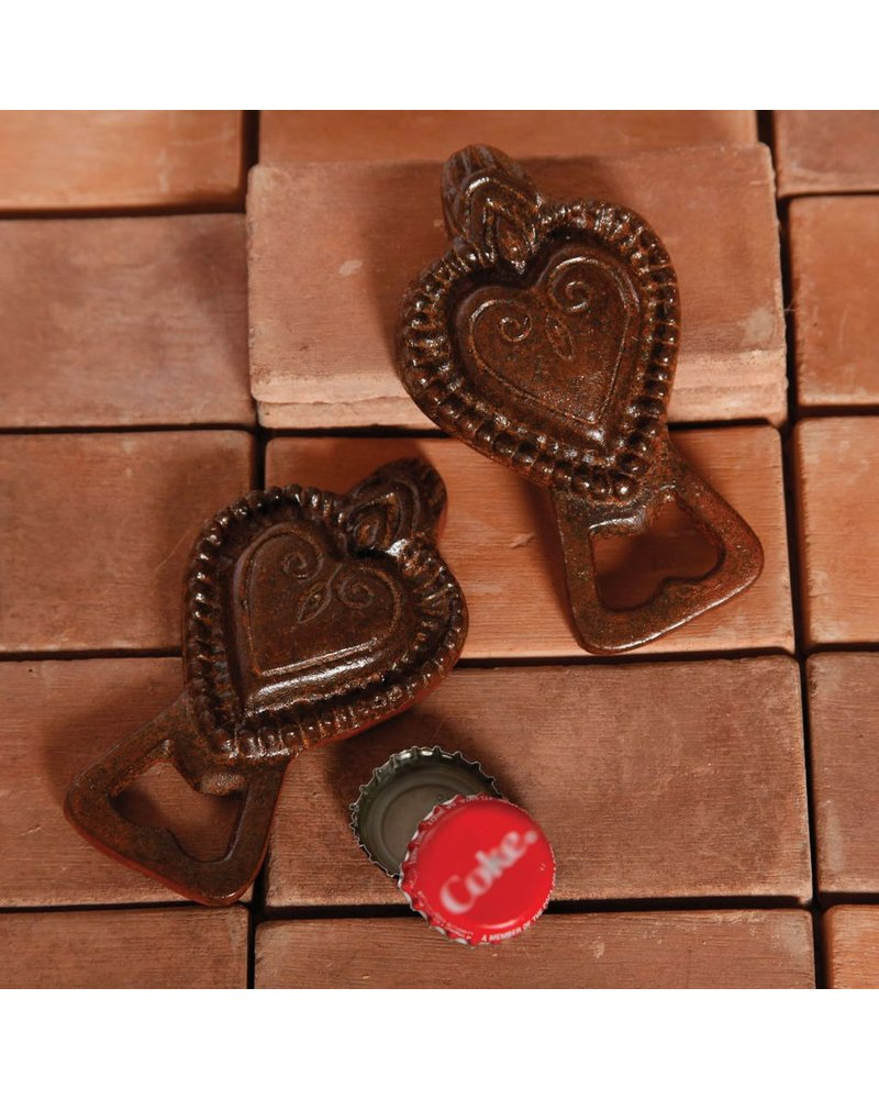 HomArt Sacred Heart Bottle Opener - Rust