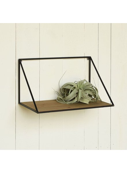 HomArt Hull Wood & Iron Shelf - Sm