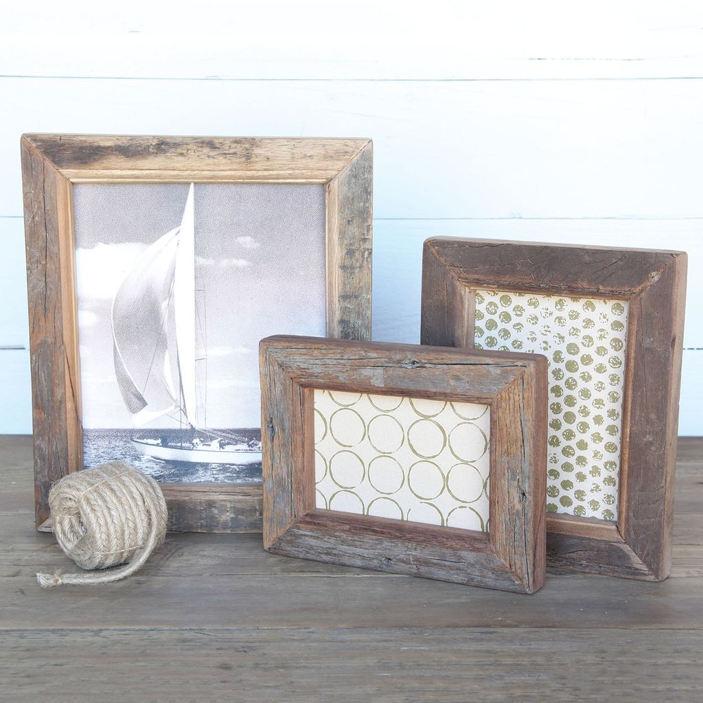 Reclaimed Wood Picture Frame 4x6