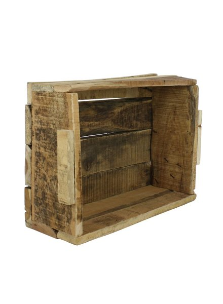 HomArt Market Salvaged Wood Crate - Natural
