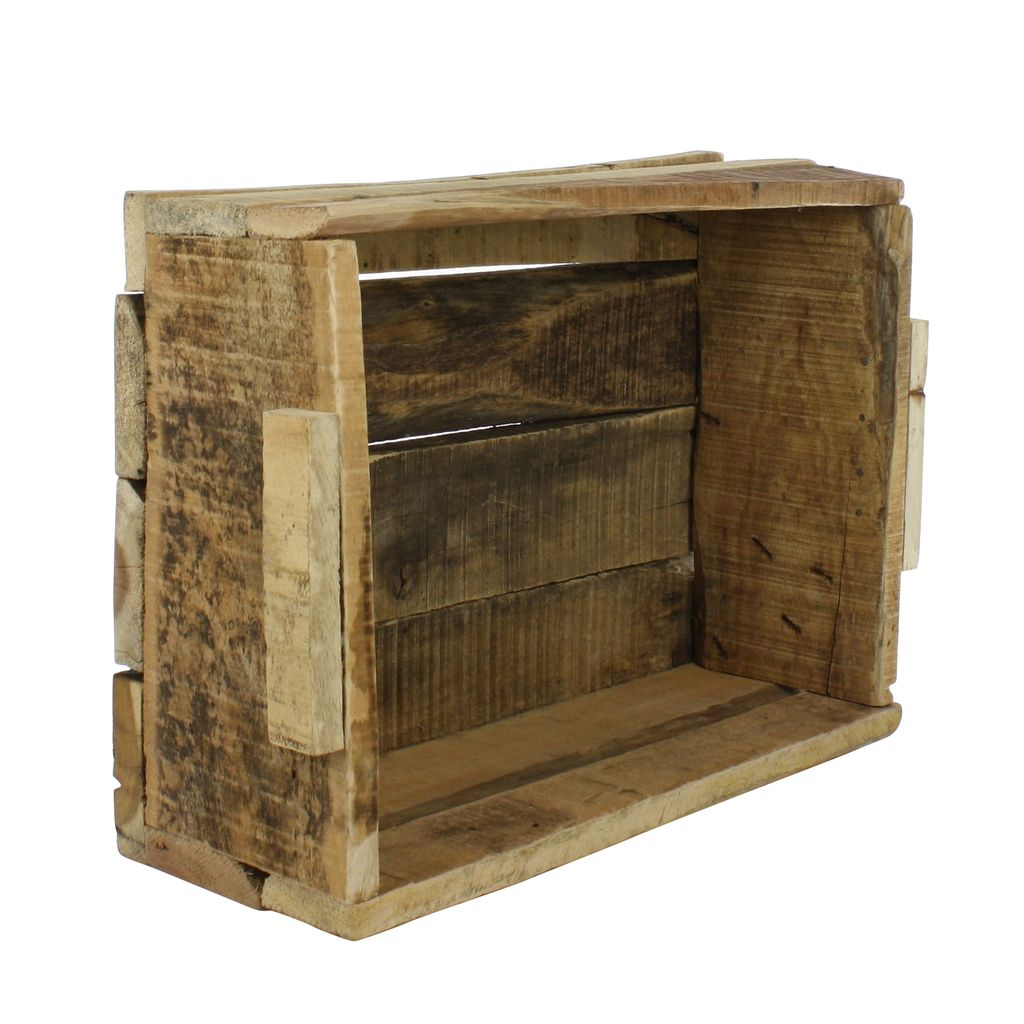 HomArt Market Salvaged Wood Crate - Natural - AREOhome