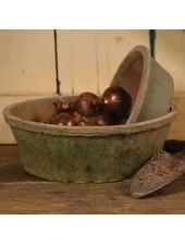 HomArt Rustic Terra Cotta Bulb Pot - Lrg - Antique Red