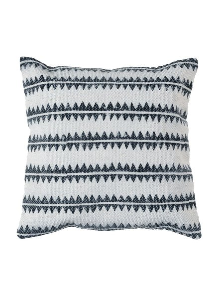HomArt Block Print Pillow 16x16 - Sawtooth Stripe
