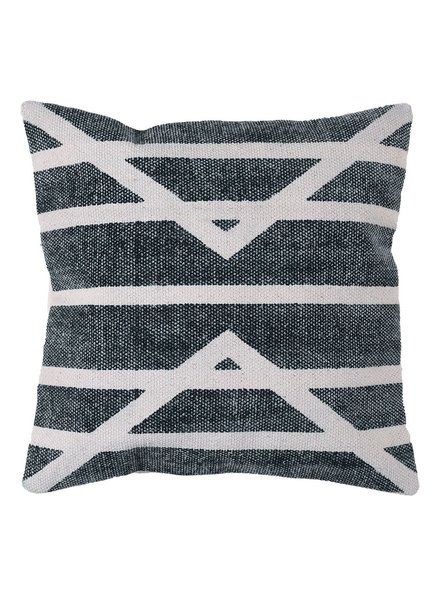 HomArt Block Print Pillow 16x16 - Centerpoint Stripe