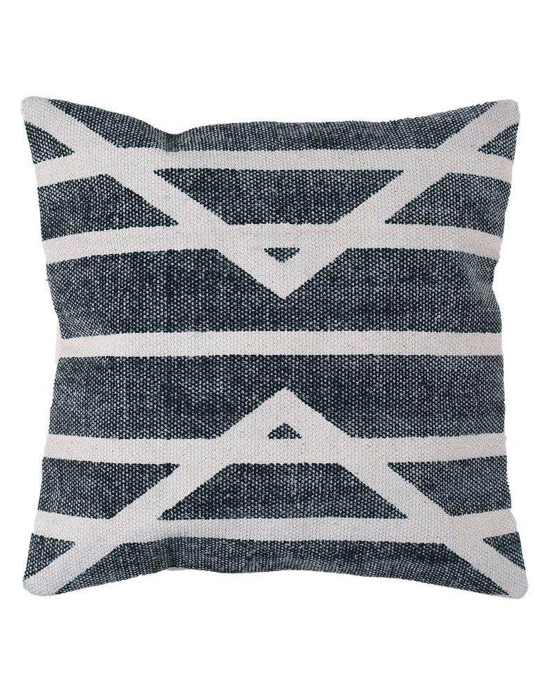 HomArt Block Print Pillow 16x16 - Centerpoint Stripe