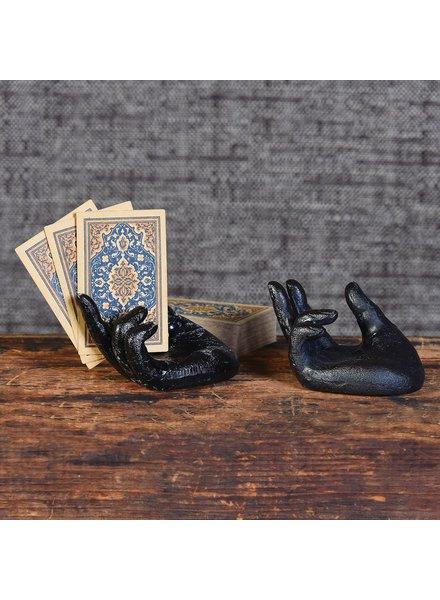 HomArt Single Hand Card Holder - Antique Black