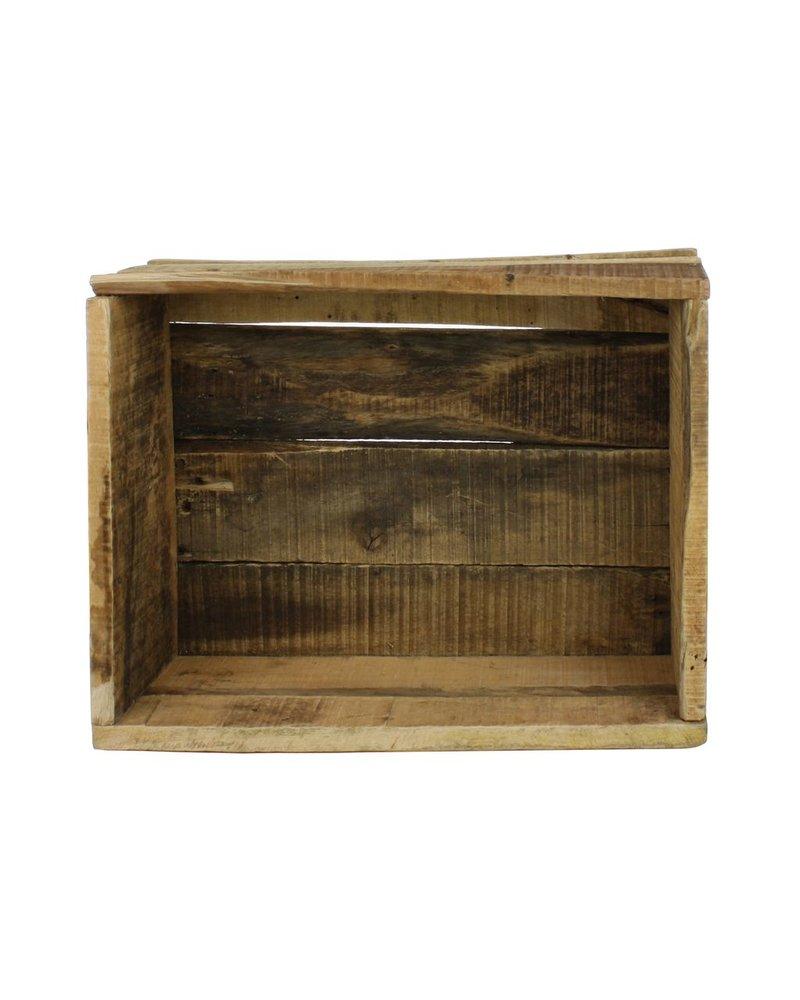 HomArt Market Salvaged Wood Crate - Natural