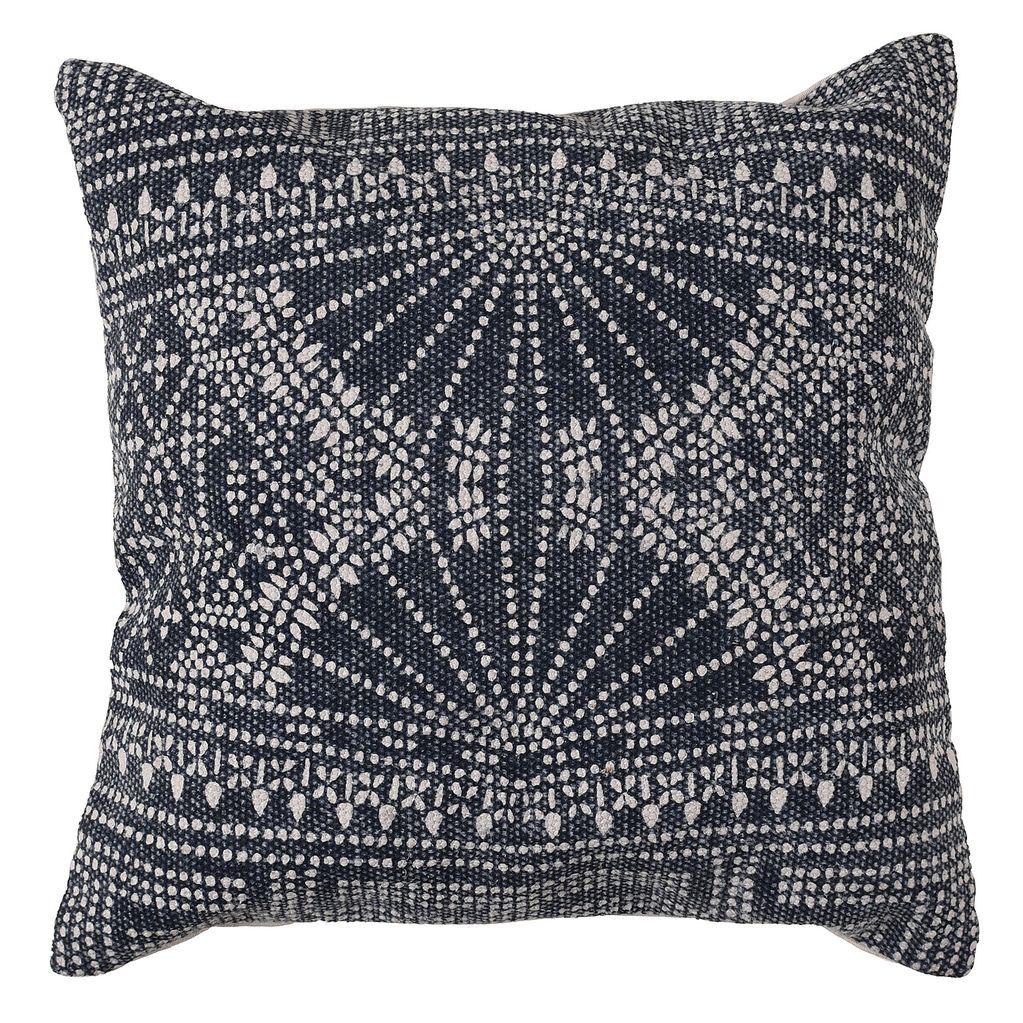 HomArt Indigo Batik Pillow 16x16