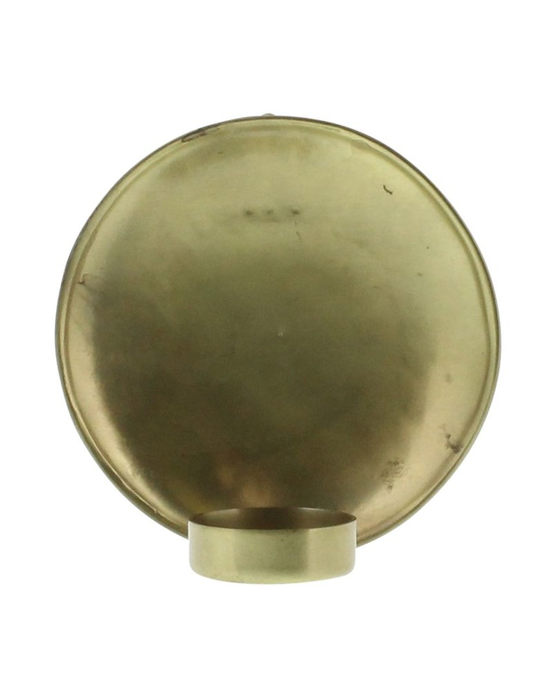 HomArt Alma Iron Tealight Wall Sconce - Sm - Brass