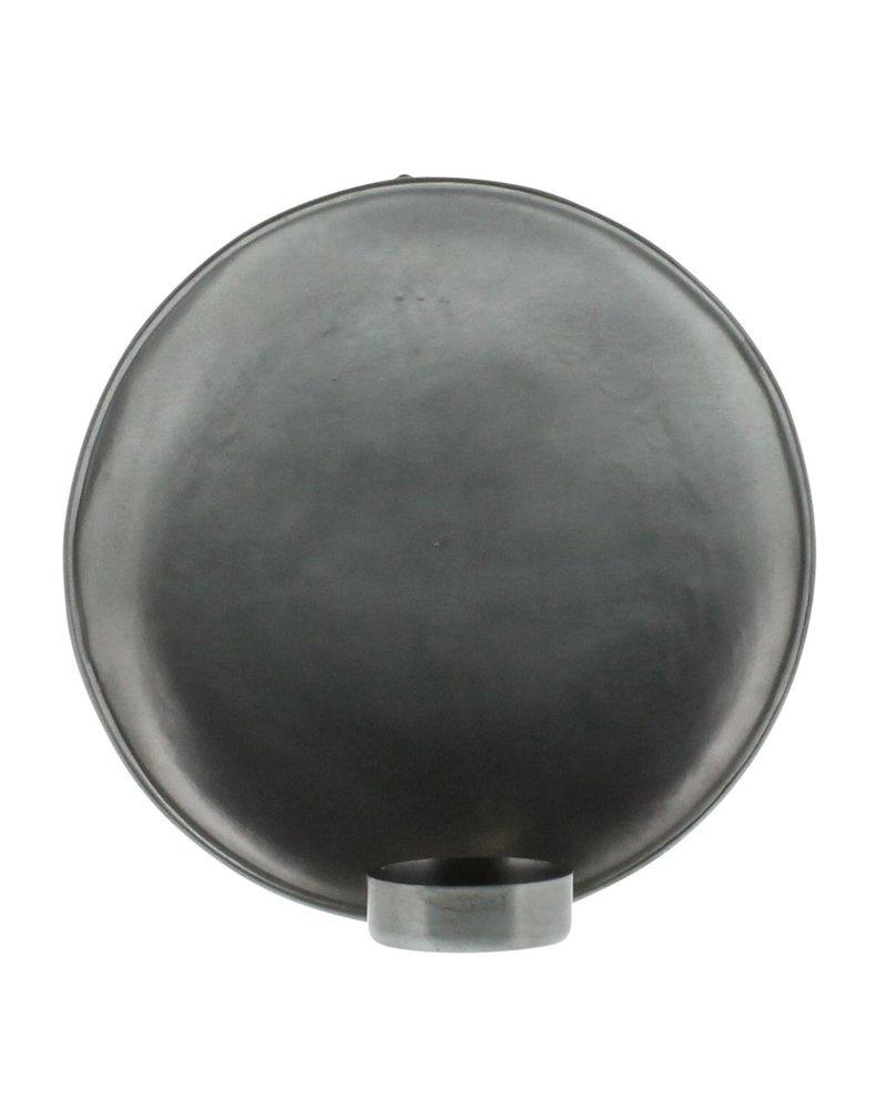 HomArt Alma Iron Tealight Wall Sconce - Lrg - Zinc