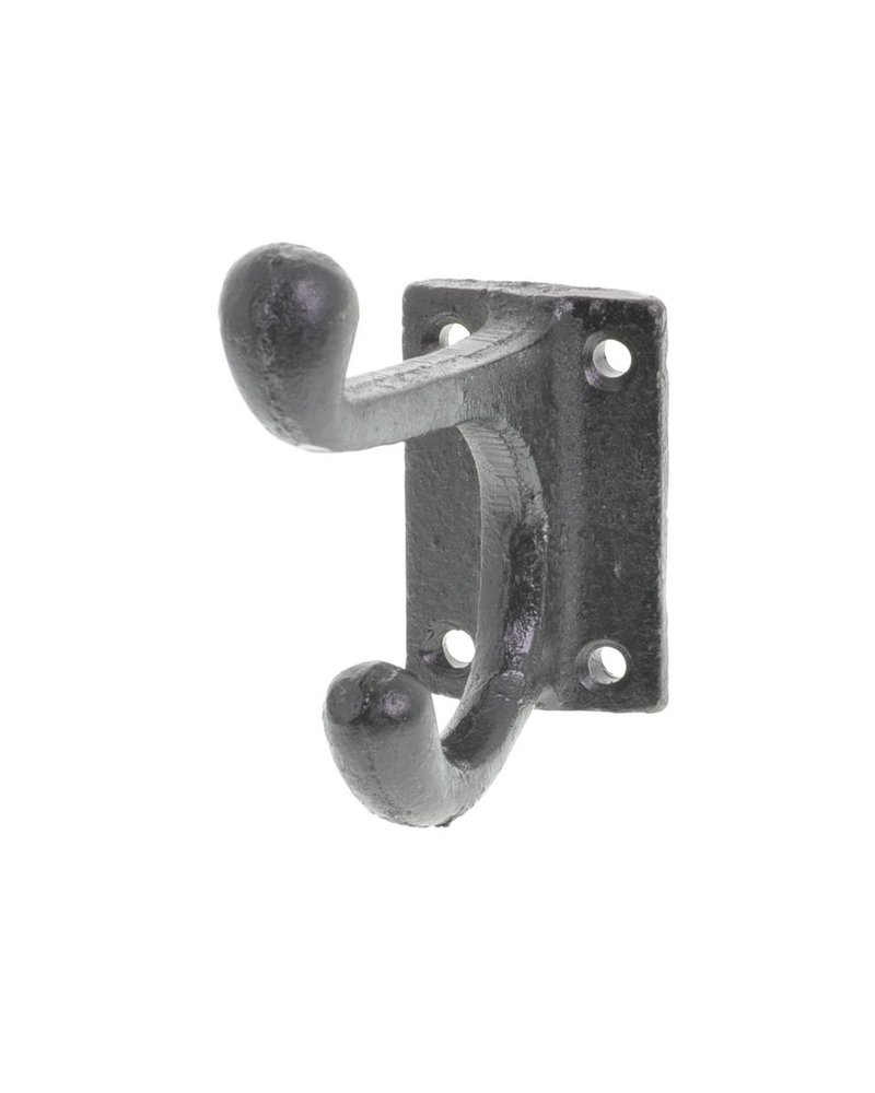 HomArt Black Pantry Wall Hook - Set of 2