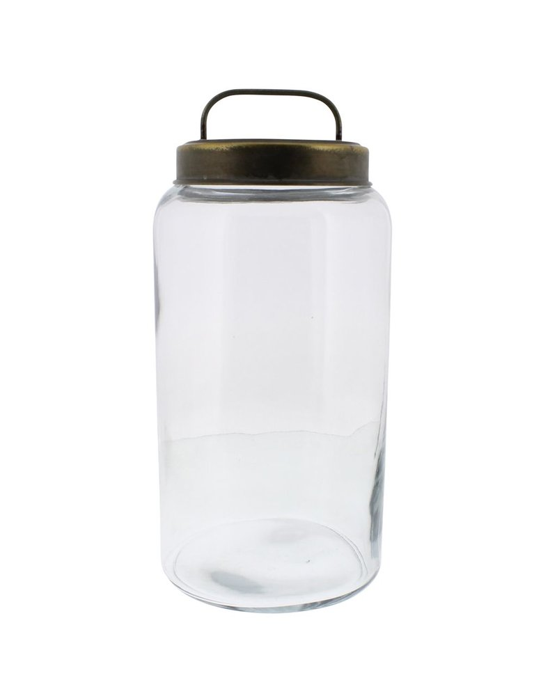 HomArt Archer Canister with Metal Lid - Lrg