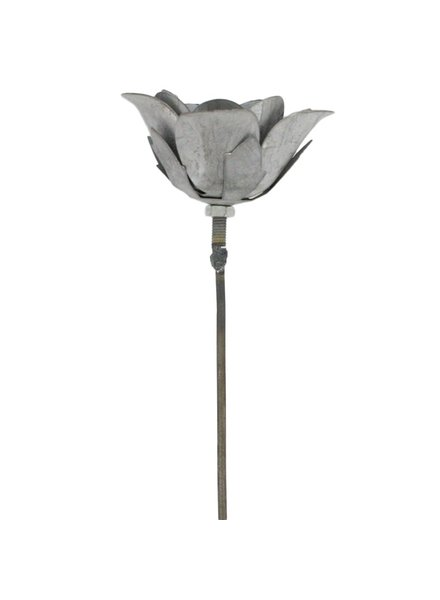 HomArt Rose Galvanized Taper Stake - 10 in - Set of 2
