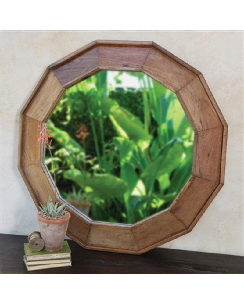 HomArt Euclid Wood Frame Mirror