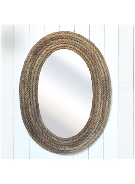 HomArt Bridgeport Rope Mirror - Oval