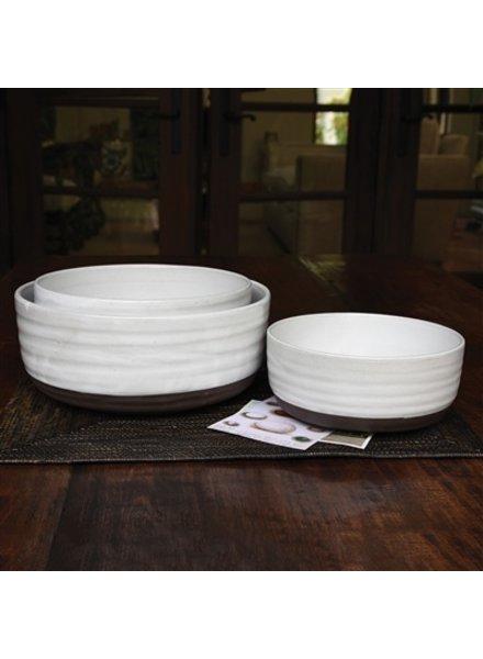 HomArt Liam Ceramic Serving Bowls - Set of 3