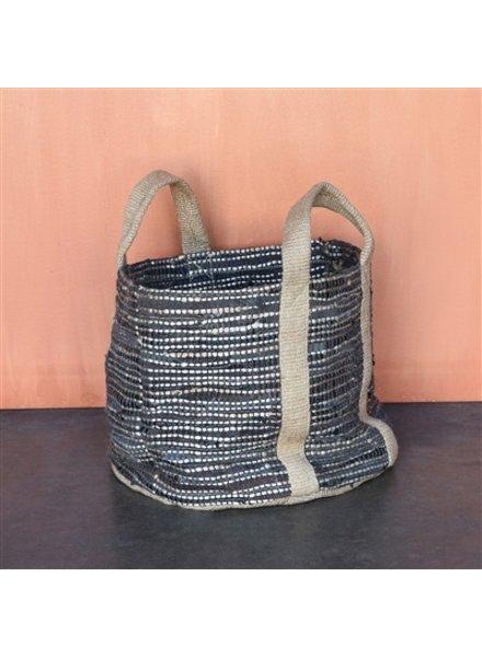 HomArt Woven Storage Denim Basket