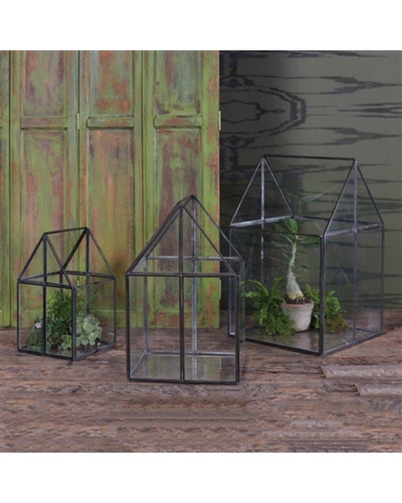 HomArt Pierre House Glass Terrarium - Large