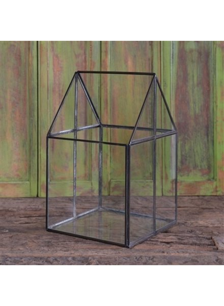 HomArt Pierre House Glass Terrarium - Medium