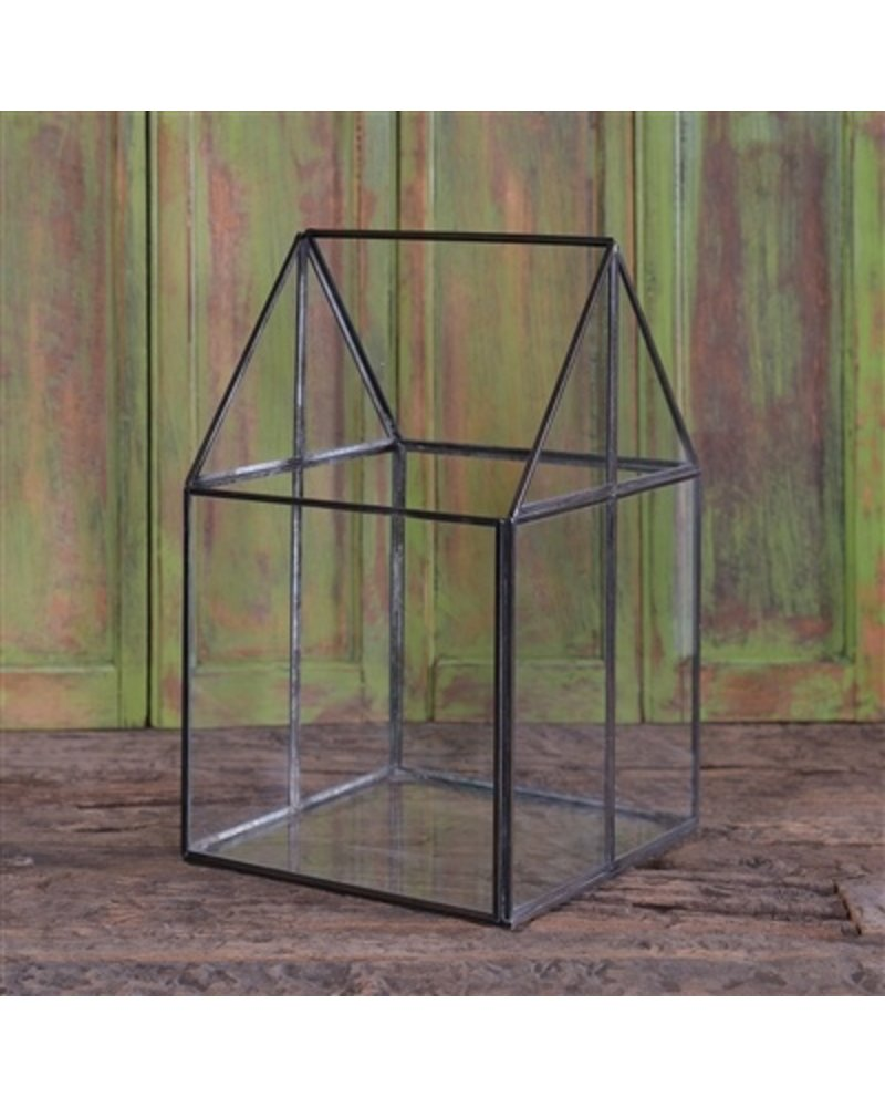 HomArt Pierre House Glass Terrarium - Medium