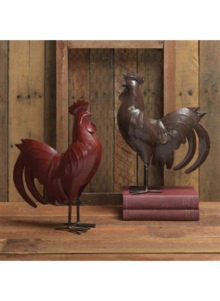 HomArt Metal Rooster - Red