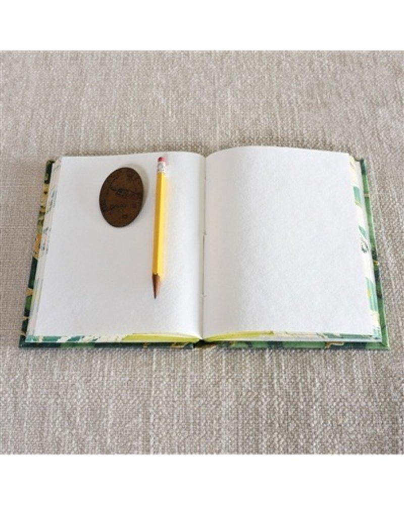 HomArt Marbleized Paper Journal - Green