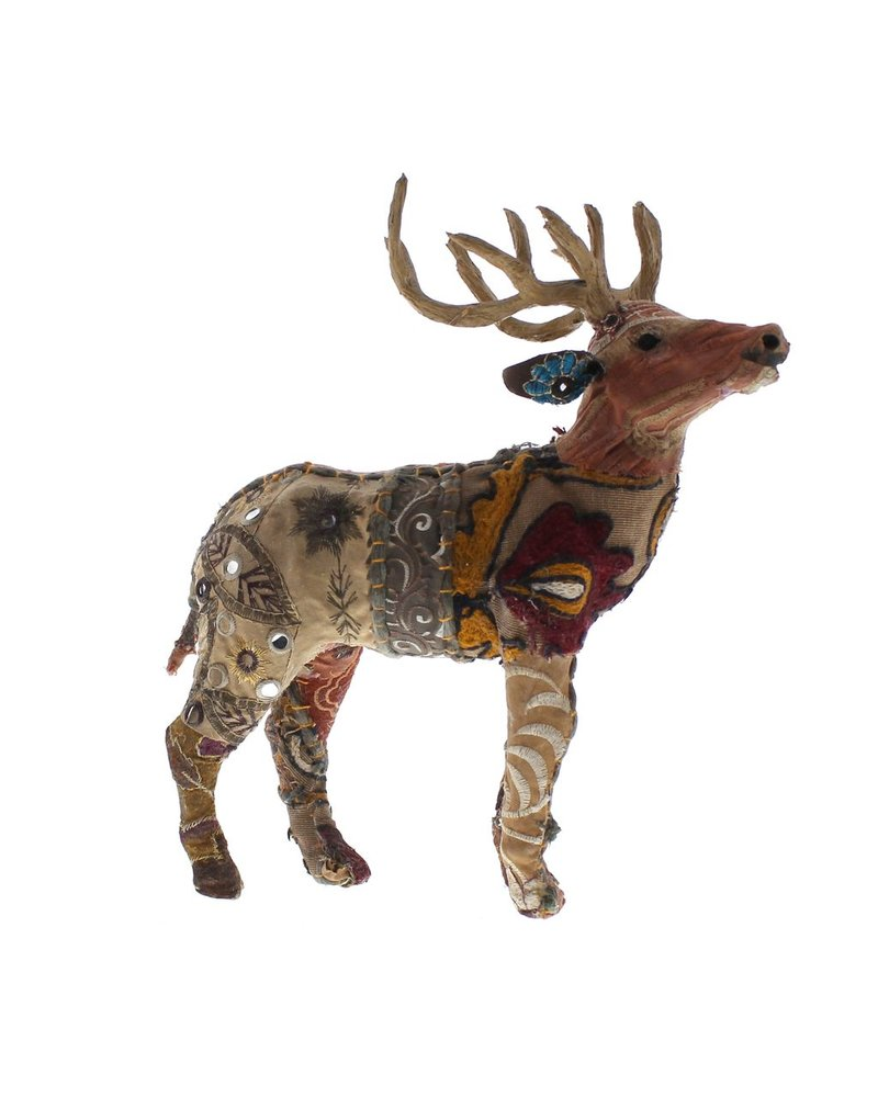 HomArt Bavarian Forest Stag Standing - Sm  Deep Brown
