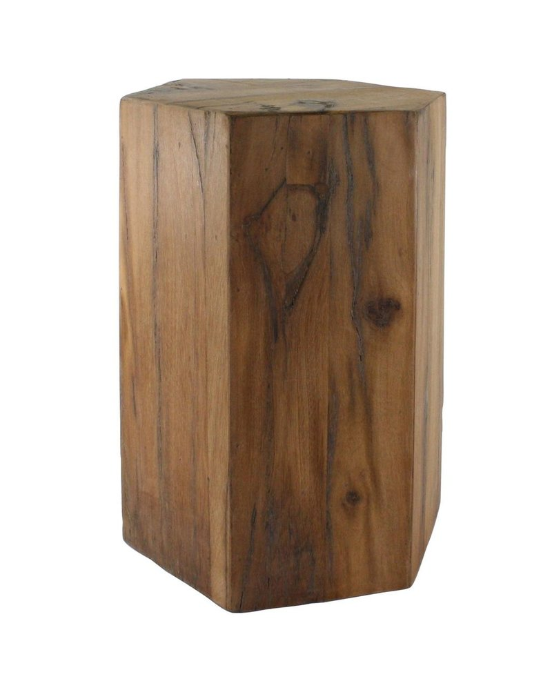 HomArt Hexagonal Wood Block - Lrg - Natural
