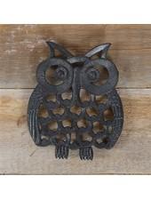 HomArt Owl Trivet - Cast Iron