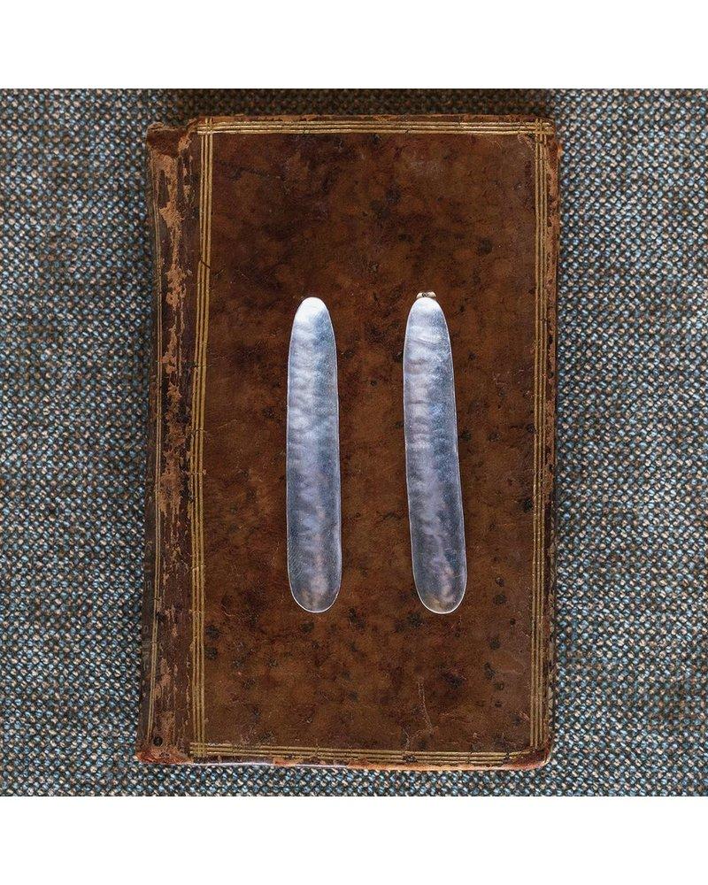 OraTen Pod Silver Earrings, Long