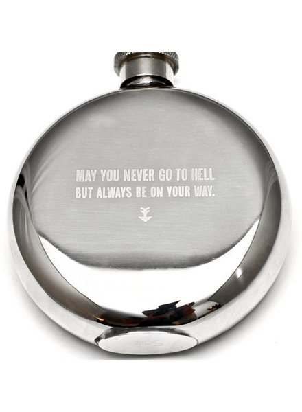 May You Never Flask 5oz